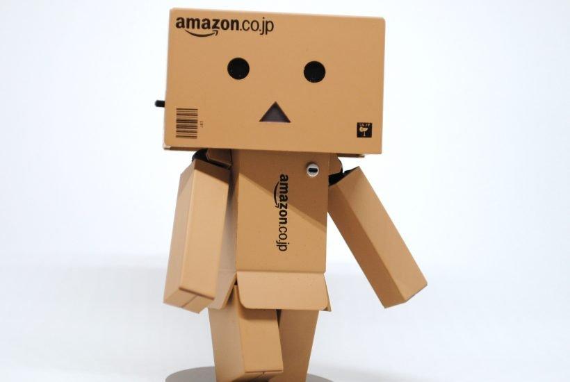 Cardboard box man
